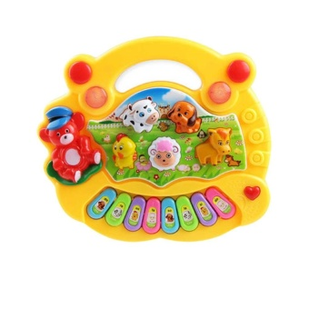Baby Kids Musical Educational Piano Animal Farm Developmental Music Toys for Children Gift - intl - 4