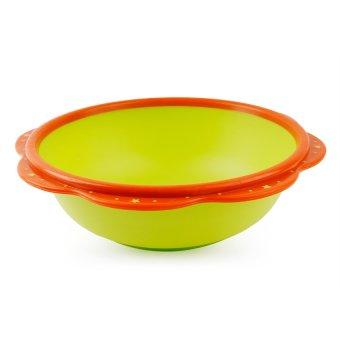 Baby Lab Petal Wash Basin (Green/Orange)