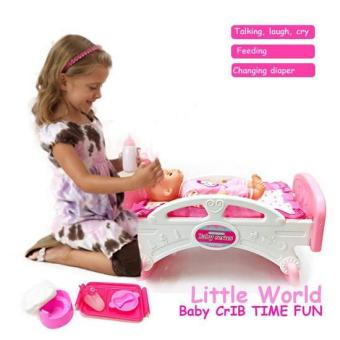 Baby Magic Crib Time Fun Doll Play