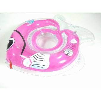 Baby Neck Fish Float Ring safe for Bath Inflatable Floats PoolsInfant Swimming - 2
