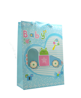 Baby Posh Paper Bag Pack of 6 (Blue) - picture 2