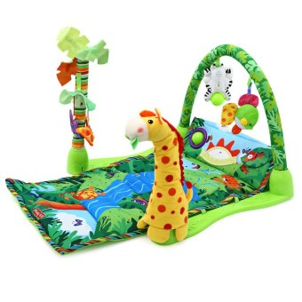 Baby Rainforest Music Soft Mat For Play Gym Activity - 2