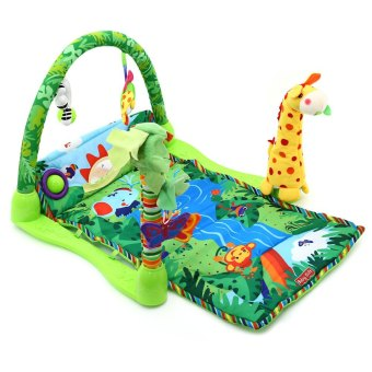 Baby Rainforest Music Soft Mat For Play Gym Activity - 3