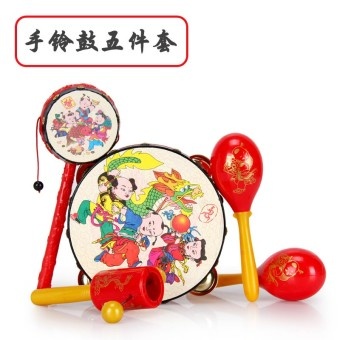 Baby rattle music drum