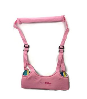 Baby Safe Learning Walker (Pink) Aid Assistant Toddler Kid HarnessAdjustable Strap New Baby walker