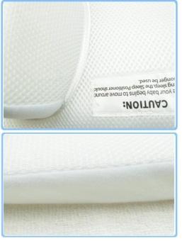 Baby Sleeping Mat Cribs Sleep Pillow Stand Up Anti-spit Milk Pillow - intl - 4