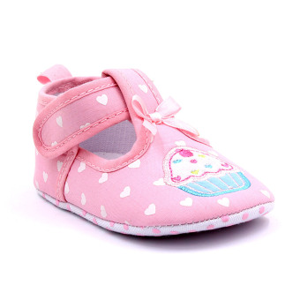 Baby Step Cupcake Hearts Baby Girl Shoes (Pink) Price Philippines