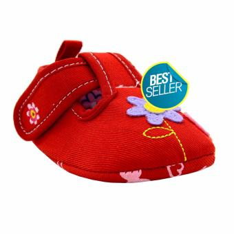 BABY STEPS Bloom Baby Girl Sandals (Red)