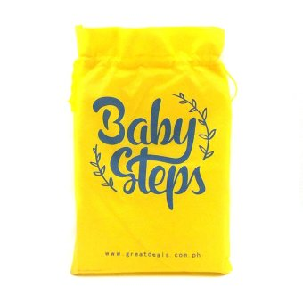 BABY STEPS Cloth Baby Diapers (Yellow) - 5