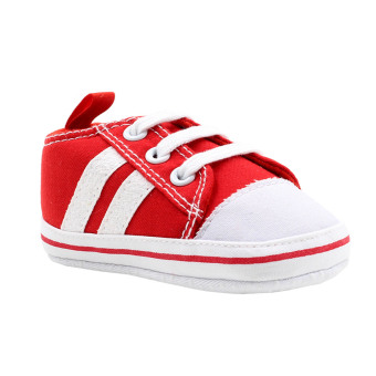 BABY STEPS Doub Baby Boy Shoes Sneakers (Red)