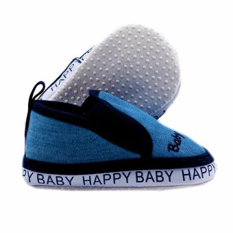 BABY STEPS Happy Baby Boy Shoes (Blue) - 2