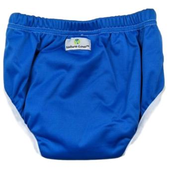 Baby Toddler (Nature Love Brand) Cloth Training Pants / Pull-upCloth Diaper Underwear Size 2 {Blue }