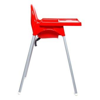 Babyhood High Chair (Red) - 3