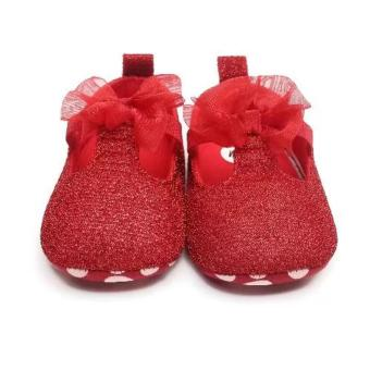 Babyzone Pre-walker Shoes for Baby Red 0 to 6 Months Old - 2