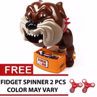 Bad Dog Action Game With Free 2pcs SPINNER Assorted Color and Design