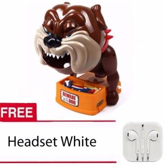 Bad Dog Action Game with Free Headset White