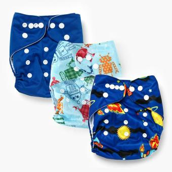 Belle & Coco 3-pack Cloth Pocket Diapers