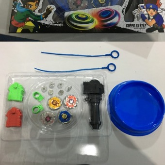 Beyblade Arena Spinning Top Metal Fight Beyblad Toupie Beyblade Set Metal Fusion Children Gifts Classic Toys - 2