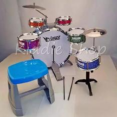 L555 5 BIG JAZZ FASHION DRUMSET FOR KIDS