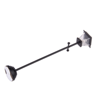 Black Metal Miniature Led Street Lamp Model - picture 2