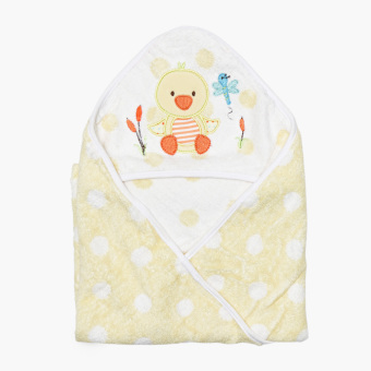 Bloom Bird Hooded Towel