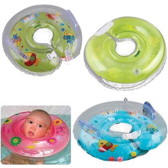 Bluelans Baby Aids Infant Swimming Neck Float Ring Safety - picture 2