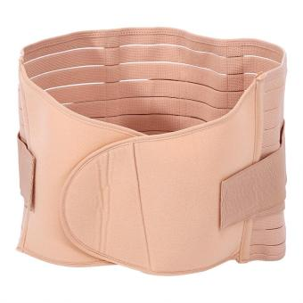 Body Shaping Girdle Abdominal Binder Maternity Shaper Belt(Apricot) - intl