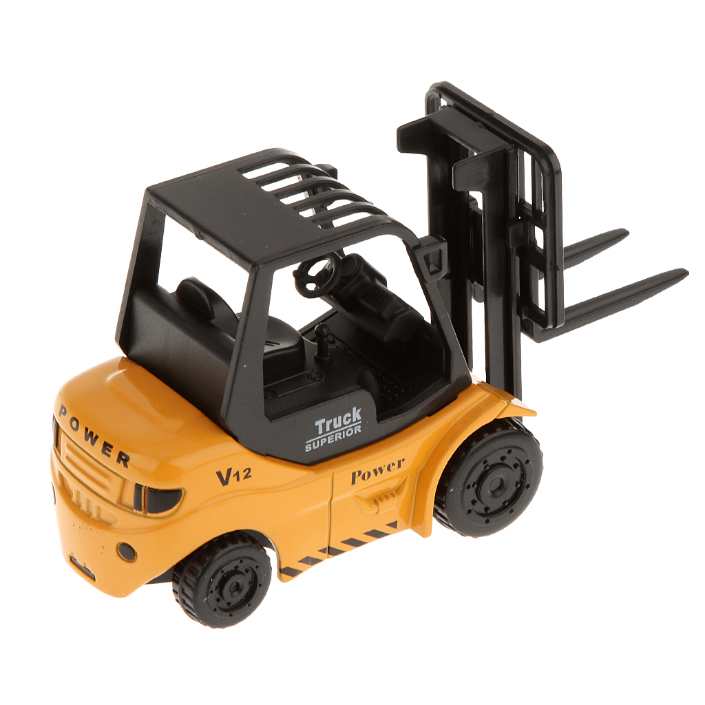 ... BolehDeals 1 64 Diecast Forklift Truck Model Construction Vehicle Car Kids Toys Intl