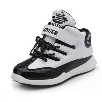 Boy's girls New style Spring and Autumn athletic shoes children basketball shoes
