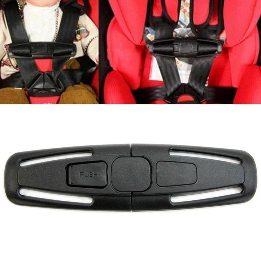 Car Baby Safety Seat Strap Belt Harness Chest Clip Child Safe LockBuckle