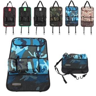 Car Seat Back Multi-Pocket Storage Bag Holder Organizer Hanger NetAuto Accessory Red - intl - 4