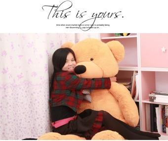 CatWalk Intimate Stuffed Animal Teddy Bear Plush Soft Toy 60CM(Light Brown) - 5