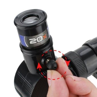 children Astronomical telescope for Christmas and birthday gifts Black - intl - picture 2