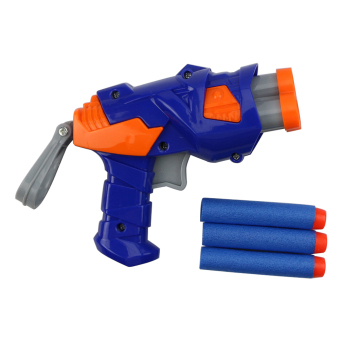 Children Kid Toy Dart Gun Blaster Soft Bullet Game With Refill Darts Sniper New (Intl)
