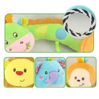 Children Plush Toys Animal Pendant Hanging Infant Bed Crib StrollerToy - intl - 4
