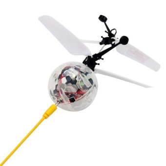 Christmas Gift Led Flying RC Helicopter Ball Children Toy Remote Control Flashing Light Aircraft Induction Boys Girls - intl - 4