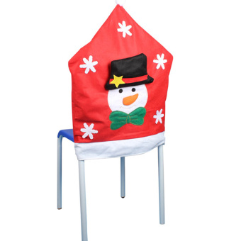 Christmas Snowman Kitchen Chair Covers - INTL - picture 3