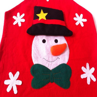 Christmas Snowman Kitchen Chair Covers - INTL - picture 4
