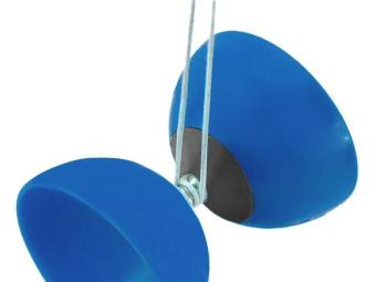Classic Chinese Yo-Yos Diabolo Juggling Spinning Toy with HandSticks (Blue) - 2