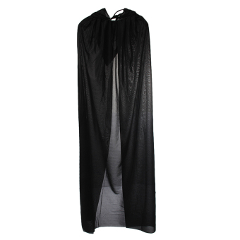 Cloak Hooded Cape Adult Medieval Costume Halloween Fancy Dress Party - intl