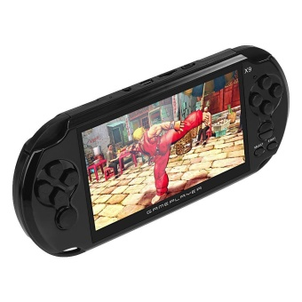 Coolboy X9 5.0 Inch Handheld Game Player Support TV Output with MP3/Movie Camera Handheld Game Console - White - intl - 2