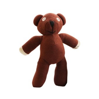 Cosplay Mr. Bean Teddy Bear Plush Toy Doll (Brown) Price Philippines