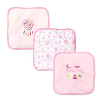 Cotton Stuff - 3-piece Washcloth (Little Princess)