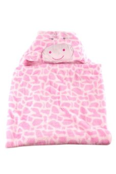Cow Hooded Blanket (Pink) - picture 2