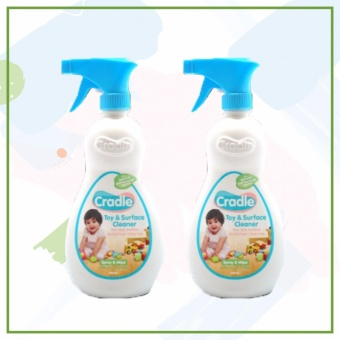 Cradle Toy & Surface Cleaner (500ml x 2pcs)