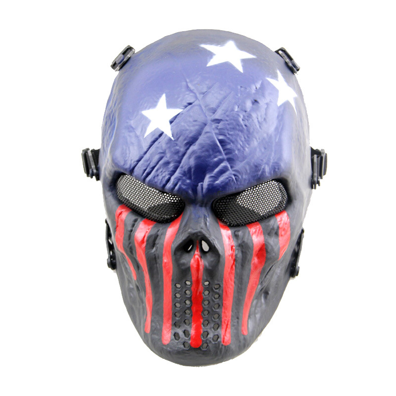 crazy scared skull mask halloween make up cosplay mask 1 intl lazada ph