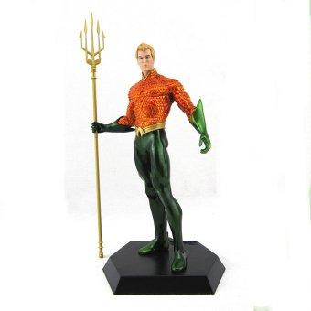 Crazy Toys Aquaman PVC Statue Figure ( Orange / Green ) - picture 2