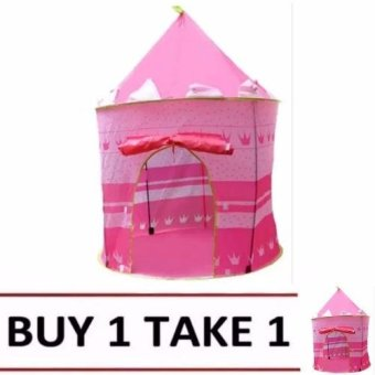 Cubby House Tent for Kids (Pink) Buy1 Take1
