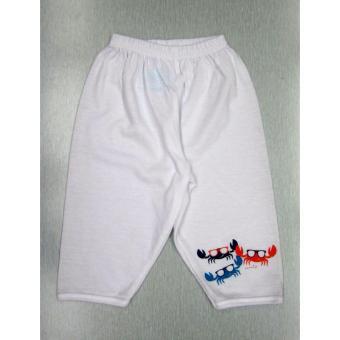 Curity Infant Boy Pajama 3in1 Medium Crabby Design - 3