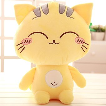 Cute kitty pillow doll size plush toy doll doll BB happy birthday girl-laugh 38cm - picture 2